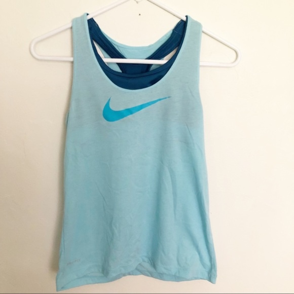 f74c73a56157ed Nike Tops | Tank Top With Built In Sports Bra | Poshmark